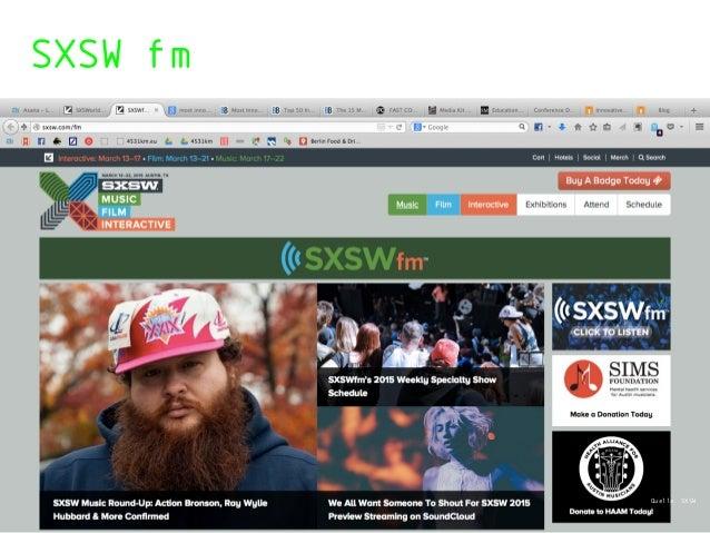 SXSW fm Quelle: SXSW