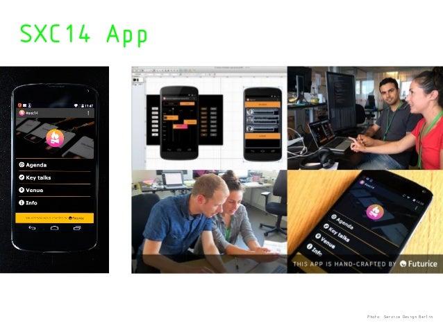 SXC14 App Photo: Service Design Berlin