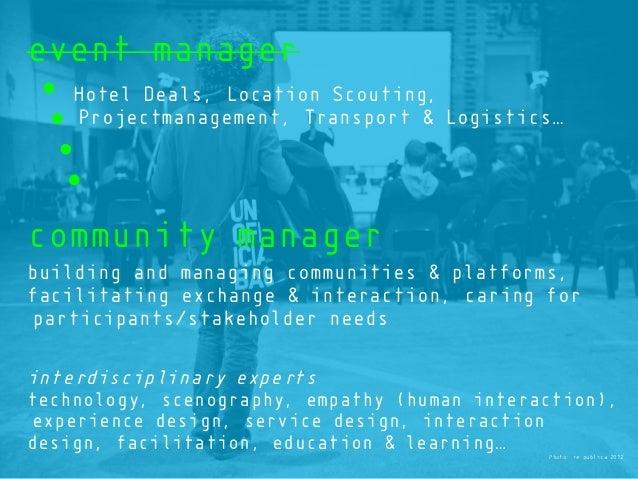 Photo: re:publica 2012 event manager Hotel Deals, Location Scouting, Projectmanagement, Transport & Logistics… community m...