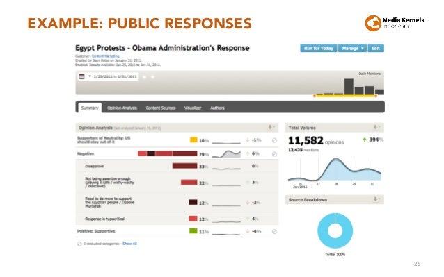 EXAMPLE: PUBLIC RESPONSES 25