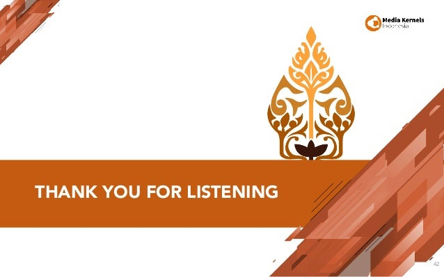 THANK YOU FOR LISTENING 42