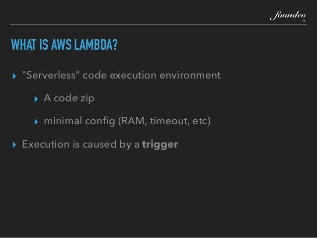 ITB2019  Serverless CFML on AWS Lambda - Pete Freitag Slide 3