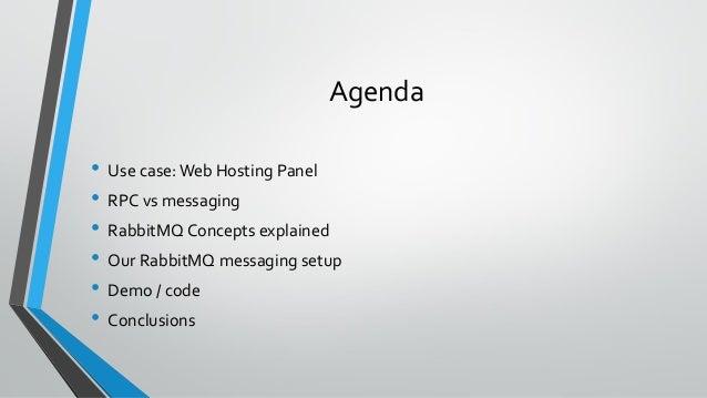 ITB2019 Multi-language / multi-OS communication using RabbitMQ - Wil de Bruin Slide 3