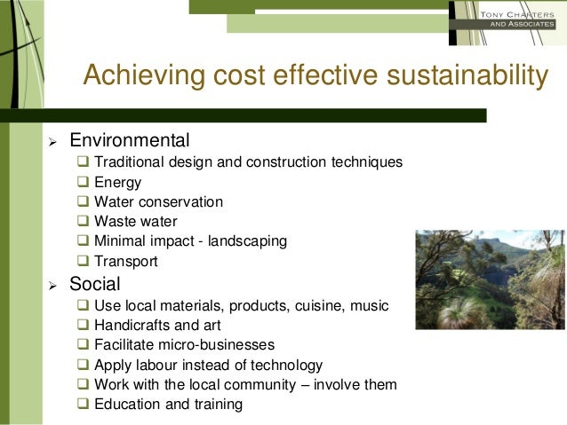 Cost Effective Ways To Achieving Sustainable Tourism Best ...