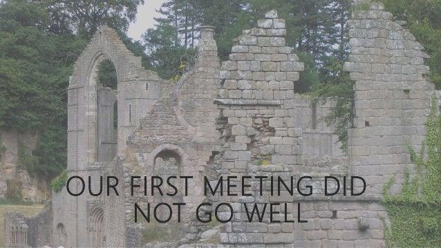 It began with a death final presentation Slide 3