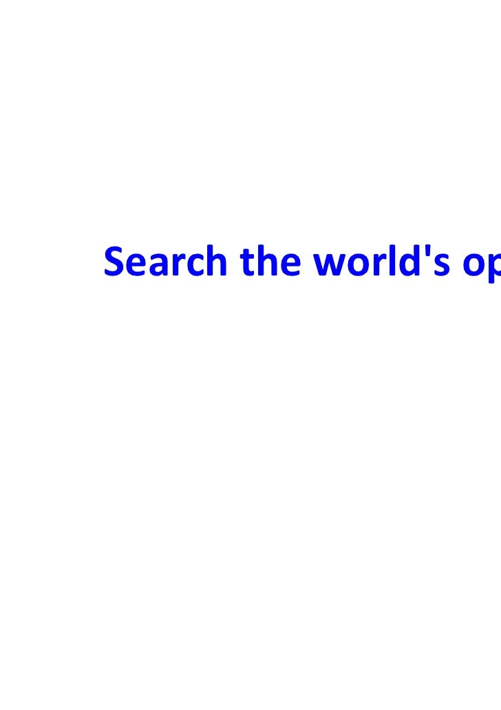 Search the worlds opinion