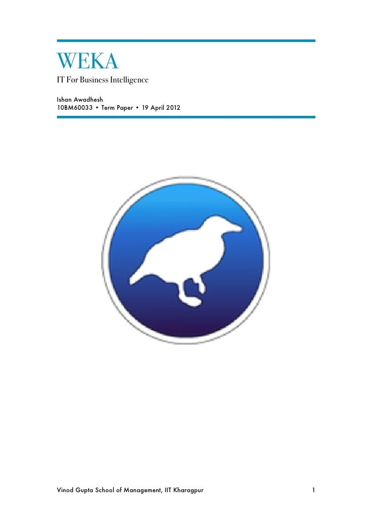 Classification And Clustering Analysis Using Weka