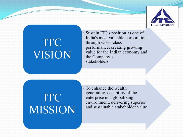 objective of itc limited In a candid interview with chaitanya kalbag, itc's chairman yc deveshwar talks of its future-ready status, government policies that are affecting its most ambitious initiative for rural.