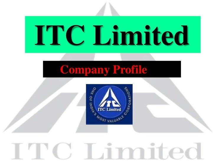 ITC Limited Company Profile