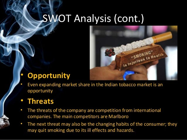 swot analysis of marlboro What is swot a swot analysis is an exercise to help brands get a birds- eye-view of where they fit in the marketplace swot is an acronym for strengths, weaknesses, opportunities and threats strengths – pat yourself on the back a little (not too hard you might get bruises) what are you doing.