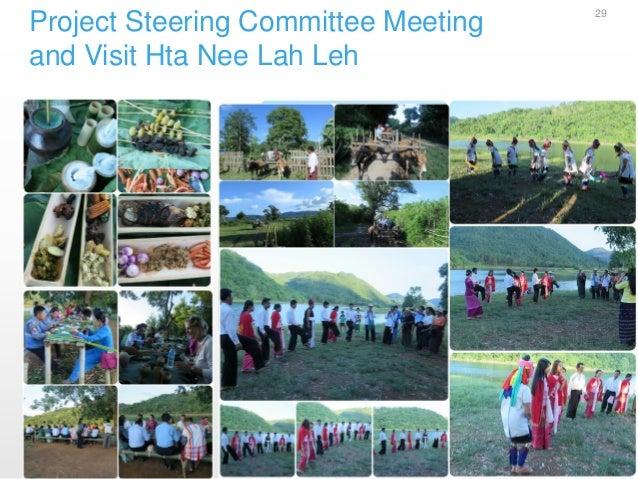 Project Steering Committee Meeting and Visit Hta Nee Lah Leh 29