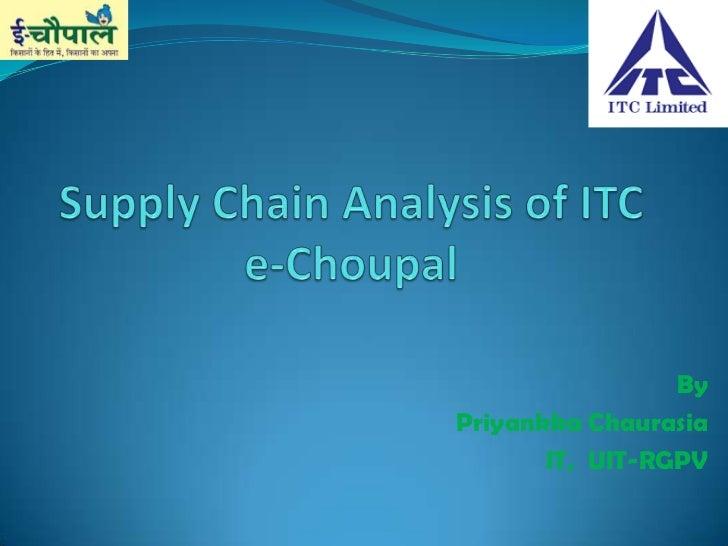 Itc Echoupal Initiative Pdf