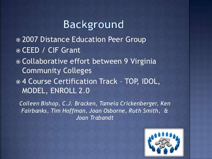 VCCS Certified Master Online Instructor