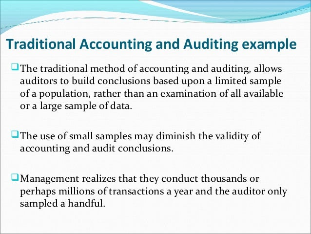 what they do accountants and auditors Internal auditors are not independent of the company they perform audit procedures for, but they usually do not report directly to management, in order to reduce the risk that they will be swayed to produce biased assessments.