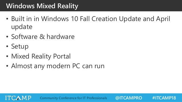 ITCamp 2018 - Ionut Balan - A beginner's guide to Windows