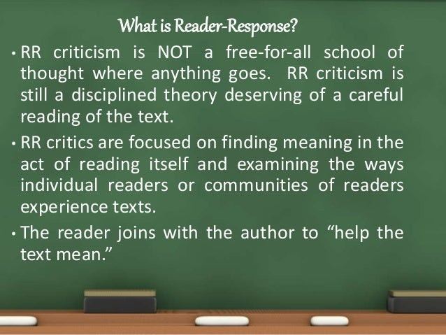 reader essays in reader-oriented theory criticism and pedagogy