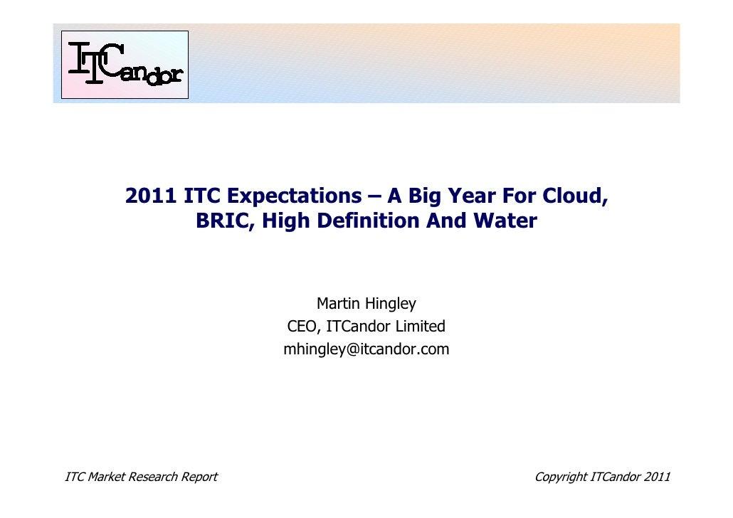 ITCandor 'Expectations 2011'