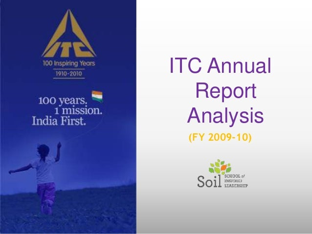 ITC Annual   Report  Analysis (FY 2009-10)