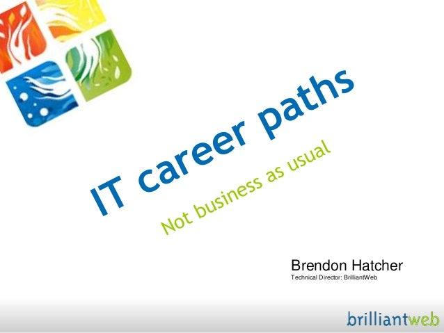 Brendon HatcherTechnical Director: BrilliantWeb