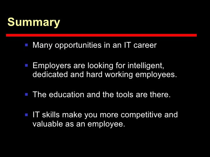 Information Technology Career Opportunities For The Blind Vi