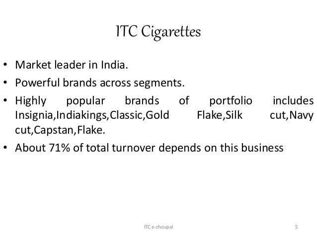 itc e choupal in india To drive volumes in fy14, both itc and hul are betting big on their rural  distribution programmes, project shakti and e-choupal, respectively.