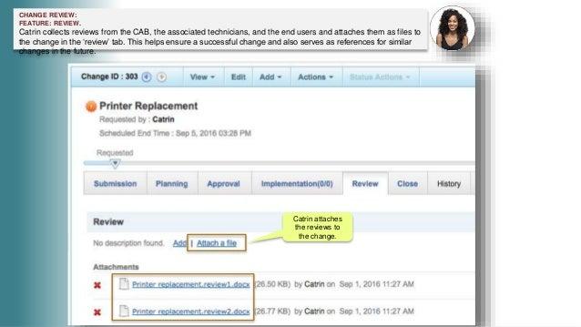 IT Change Management in ServiceDesk Plus