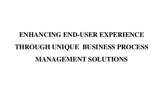 Itc infotech business process management solution