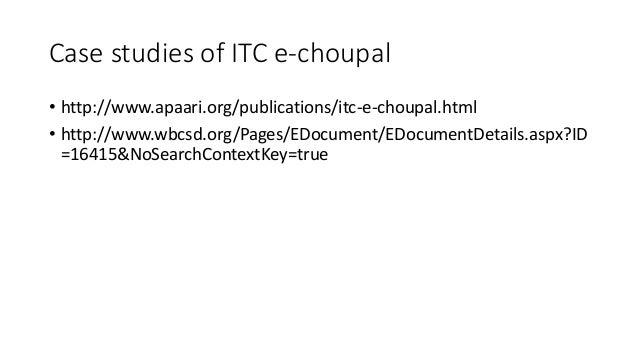 ITC case study - ITCs diverse portfolio Smelling Sweeter 1 ...