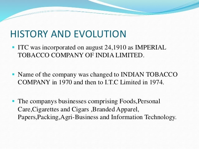 segmentation of itc products In line with itc's aspiration to be india's premier fmcg company, recognised for its world-class quality and enduring consumer trust, itc forayed into the personal care business in july 2005.