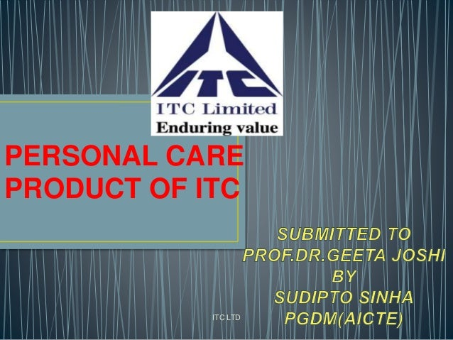 ITC LTD PERSONAL CARE PRODUCT OF ITC