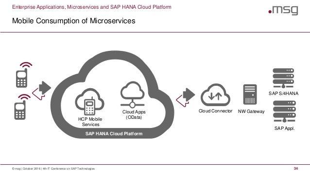 Enterprise Applications, Microservices and SAP HANA Cloud