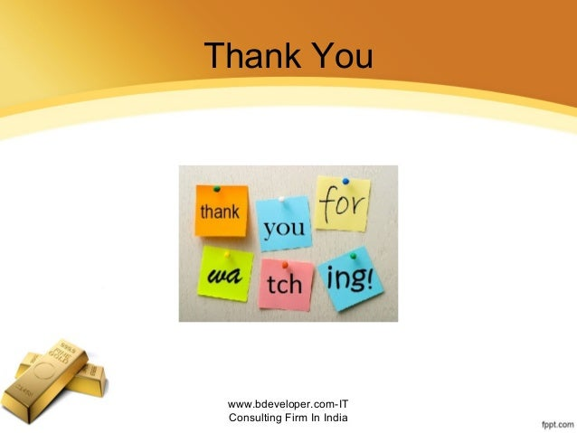 Thank You www.bdeveloper.com-IT Consulting Firm In India