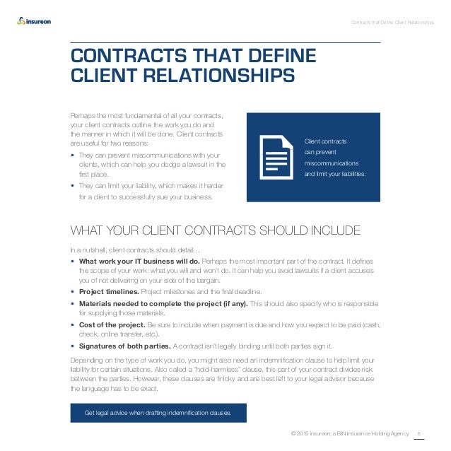 how to get an it contract