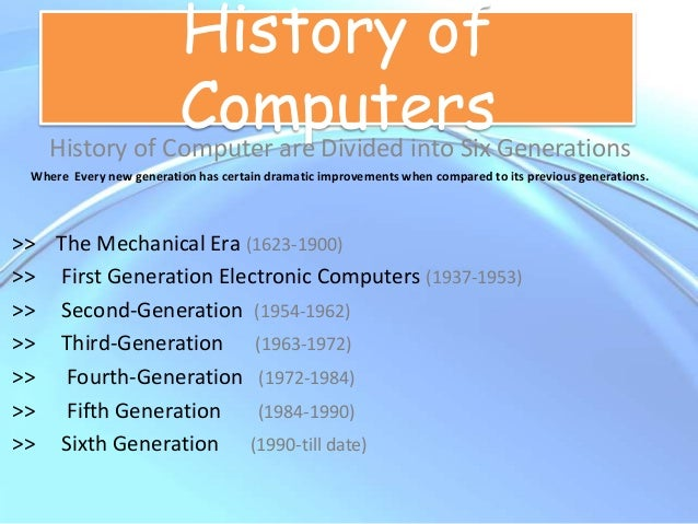 history of generations of computers 20 greatest inventions in computer programming  to fill the gaps in the history of computers and programs,  computer generations wikispaces 5.