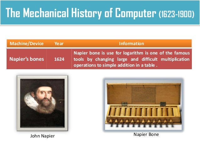 the history of the computer from blaise pascals first computer in 1642 Computer history timeline  1642-10-01 00:00:00 pascaline blaise pascal invented the pascaline  the first computer game is called spacewar invented by steve.