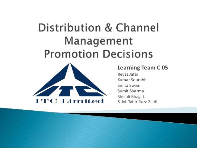 distribution channel of itc in rural market Rural distribution channel in india, with the total potential of 3,800 towns and 6,27,000 villages distribution network reached 300,000 villages dilemma was how to extend its network to the remaining villages in inaccessible rural areas.