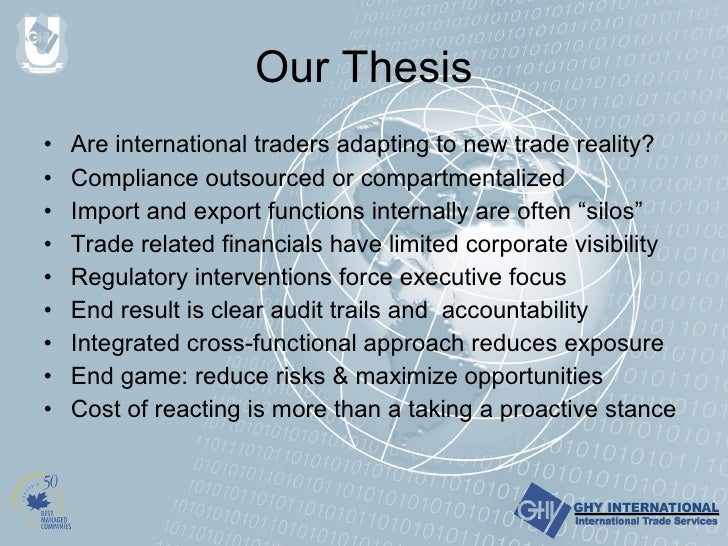 international trade phd dissertation Phd in international business attention is especially focused on the dynamics of international trade and investment 26:553:799 dissertation research in.