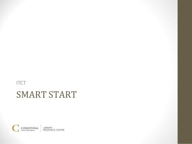 ITCTSMART START