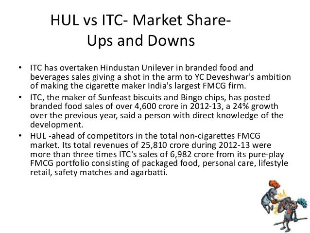 hul vs itc Follow the latest in business and stock markets on bloombergquint our digital streaming service includes comprehensive live programming on a daily basis, from global and domestic markets, coverage to views from the most.