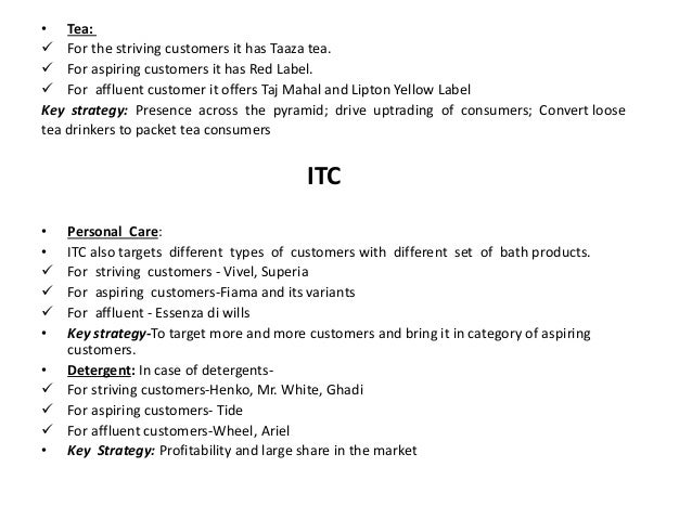 itc targeting strategy Itc infotech and digime have announced a strategic partnership to  sectors on  projects unlocking the benefits of targeted and consented data.