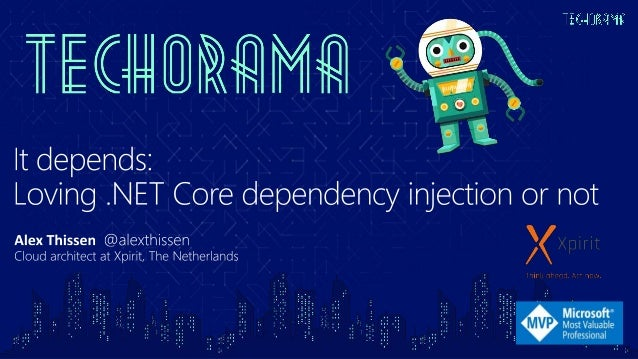 1. Unit testing 2. SOLID: Dependency Inversion Principle 3. Loose coupling 4. Clean architecture 5. .NET Core is using it ...