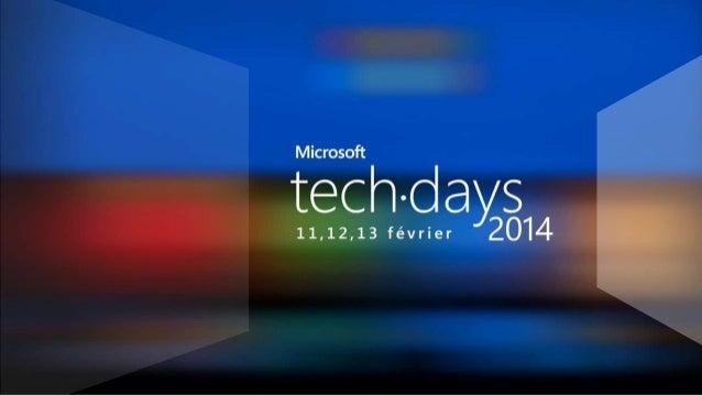 BYOD: dans quel cadre ? Patrice Trousset  DSI Microsoft France Benelux @ptrousse #mstechdays  Frédéric Fourdrinier  Public...