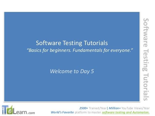 manual testing rh slideshare net Manual Testing Tools List Types of Manual Testing