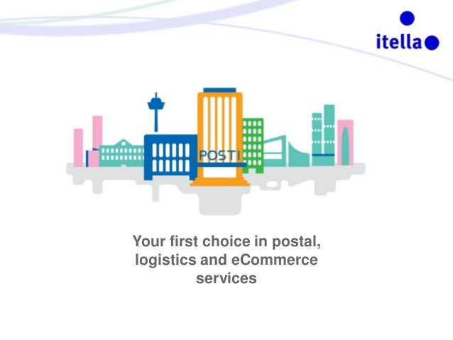 Your first choice in postal, logistics and eCommerce services
