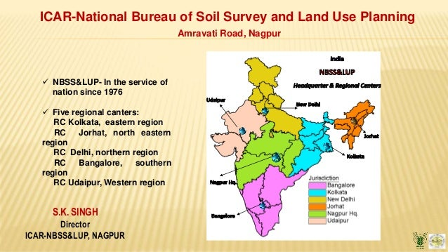 S.K. SINGH Director ICAR-NBSS&LUP, NAGPUR ICAR-National Bureau of Soil Survey and Land Use Planning Amravati Road, Nagpur ...