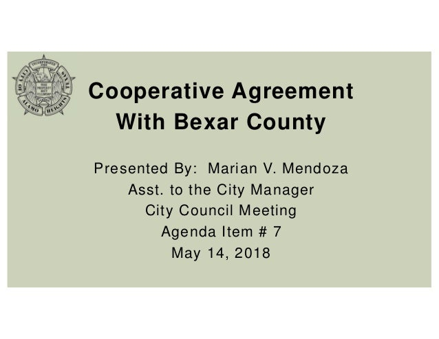 Item 7 Ppt County Coop Agreement