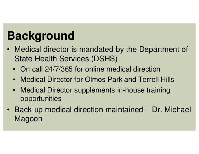 Item 9 Ppt Medical Director Agreement
