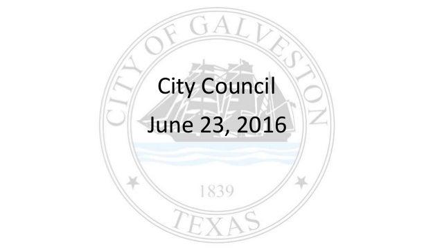 City Council June 23, 2016