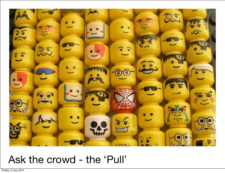 Ask the crowd - the 'Pull'Friday, 8 July 2011