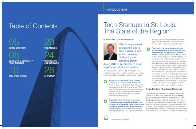 ITEN St. Louis Tech Startup Report Slide 3
